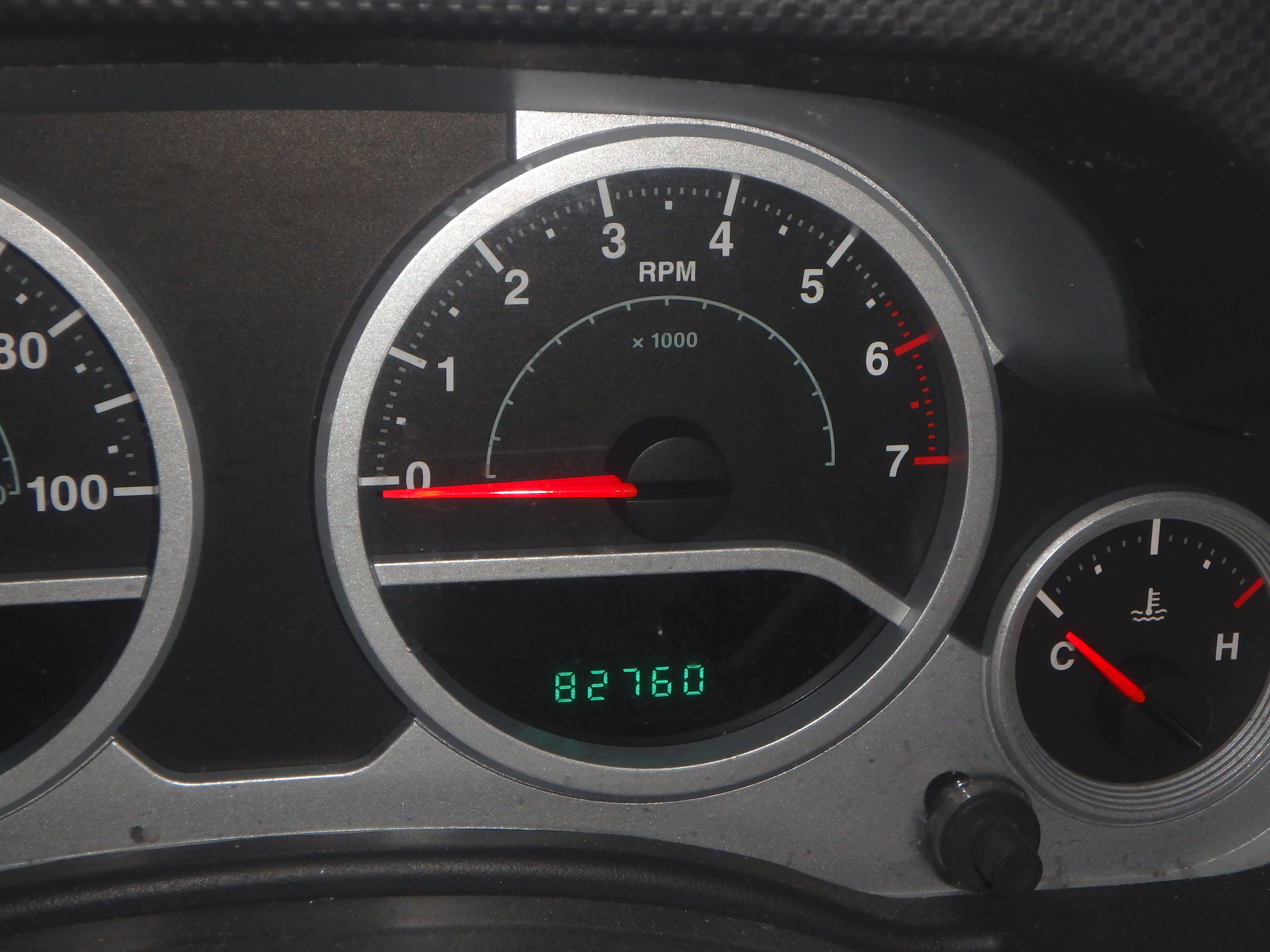 Jeep Starting Mileage for Phase 1: Part 5; 2015