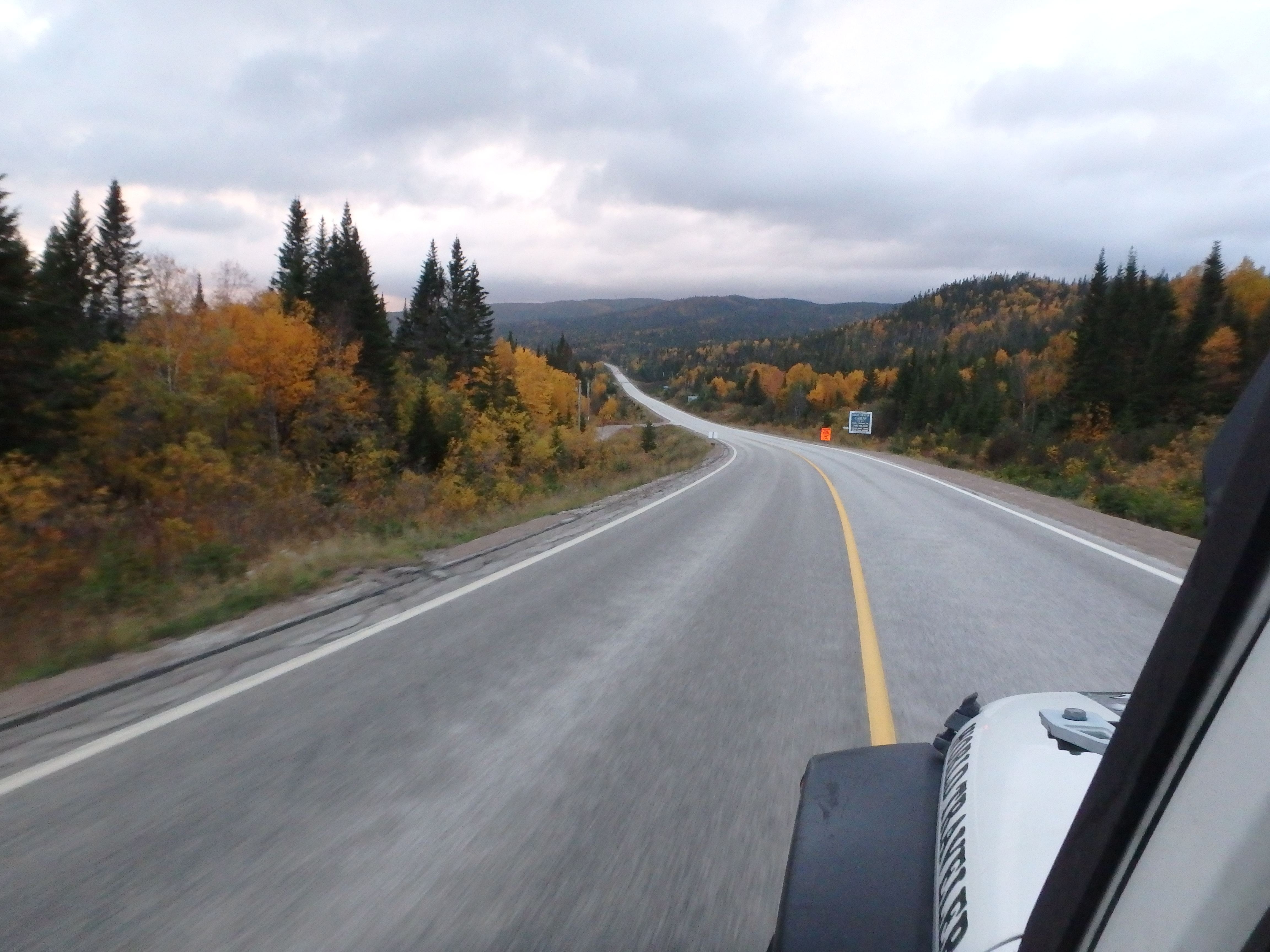 Road Home; Trans-Labrador Highway, Labrador; 2015