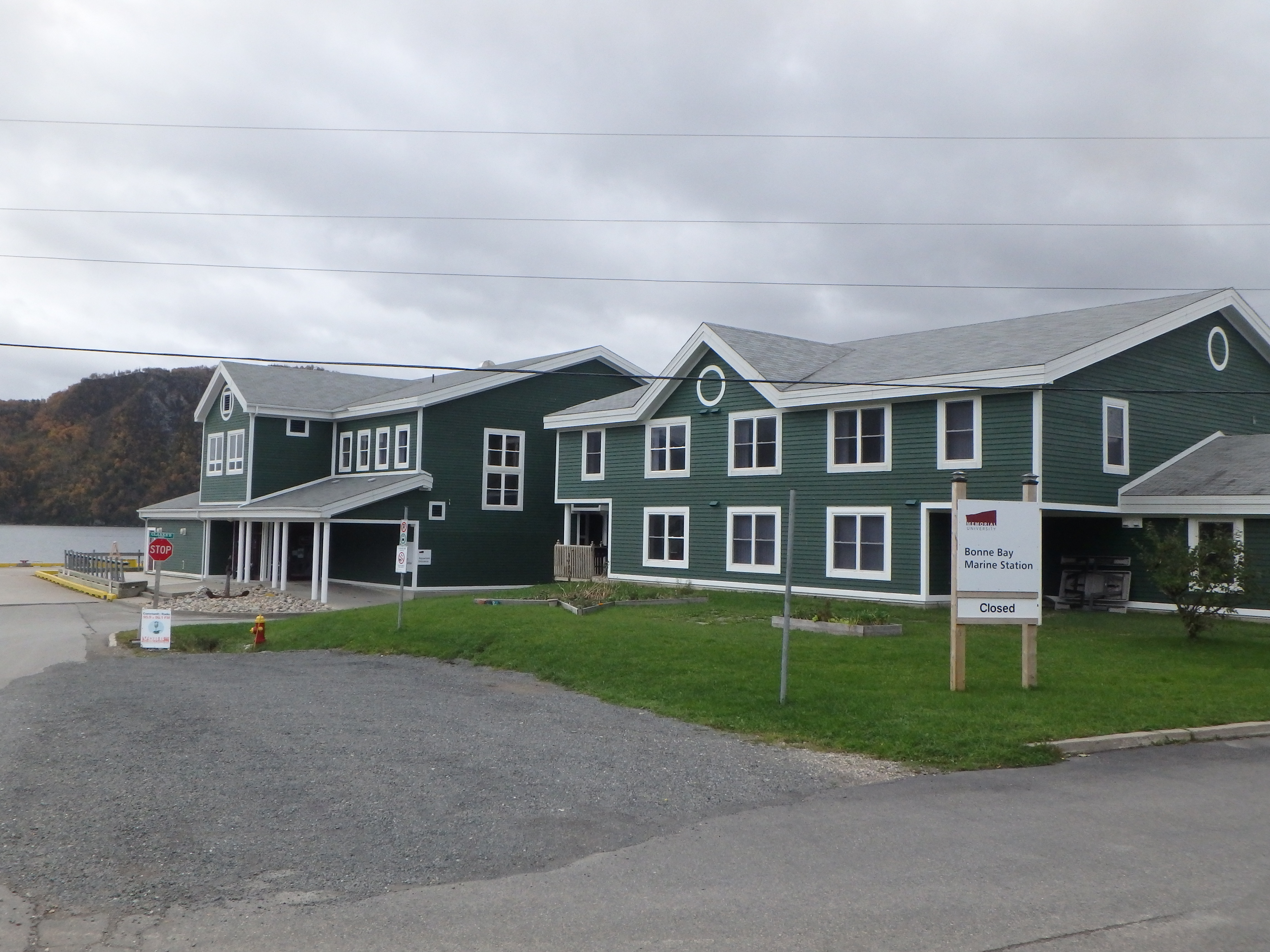 Bonne Bay Marine Station; Norris Point, Newfoundland; 2015