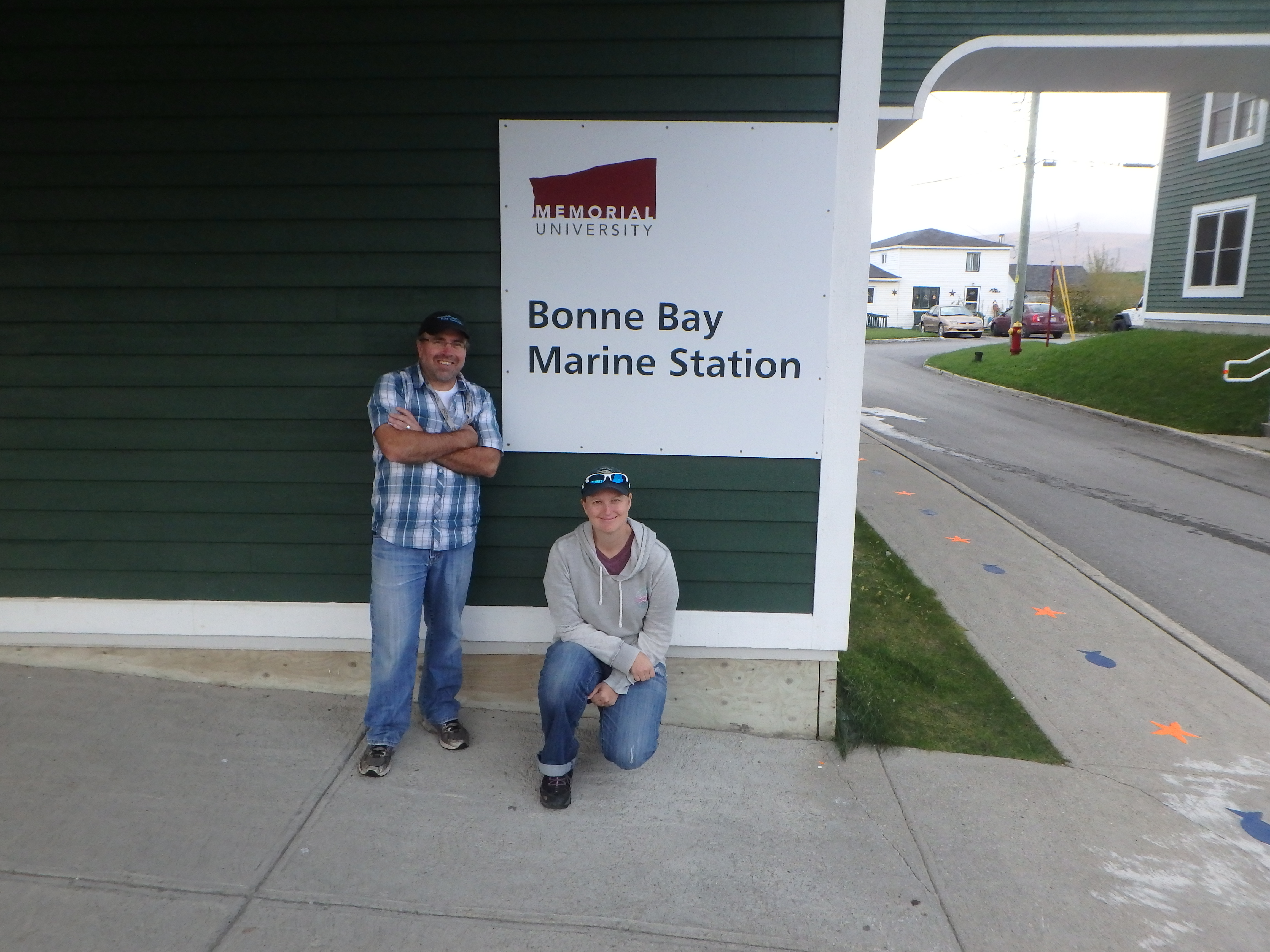 Robert J. Scott & Jessica; Bonne Bay Marine Station, Newfoundland; 2015