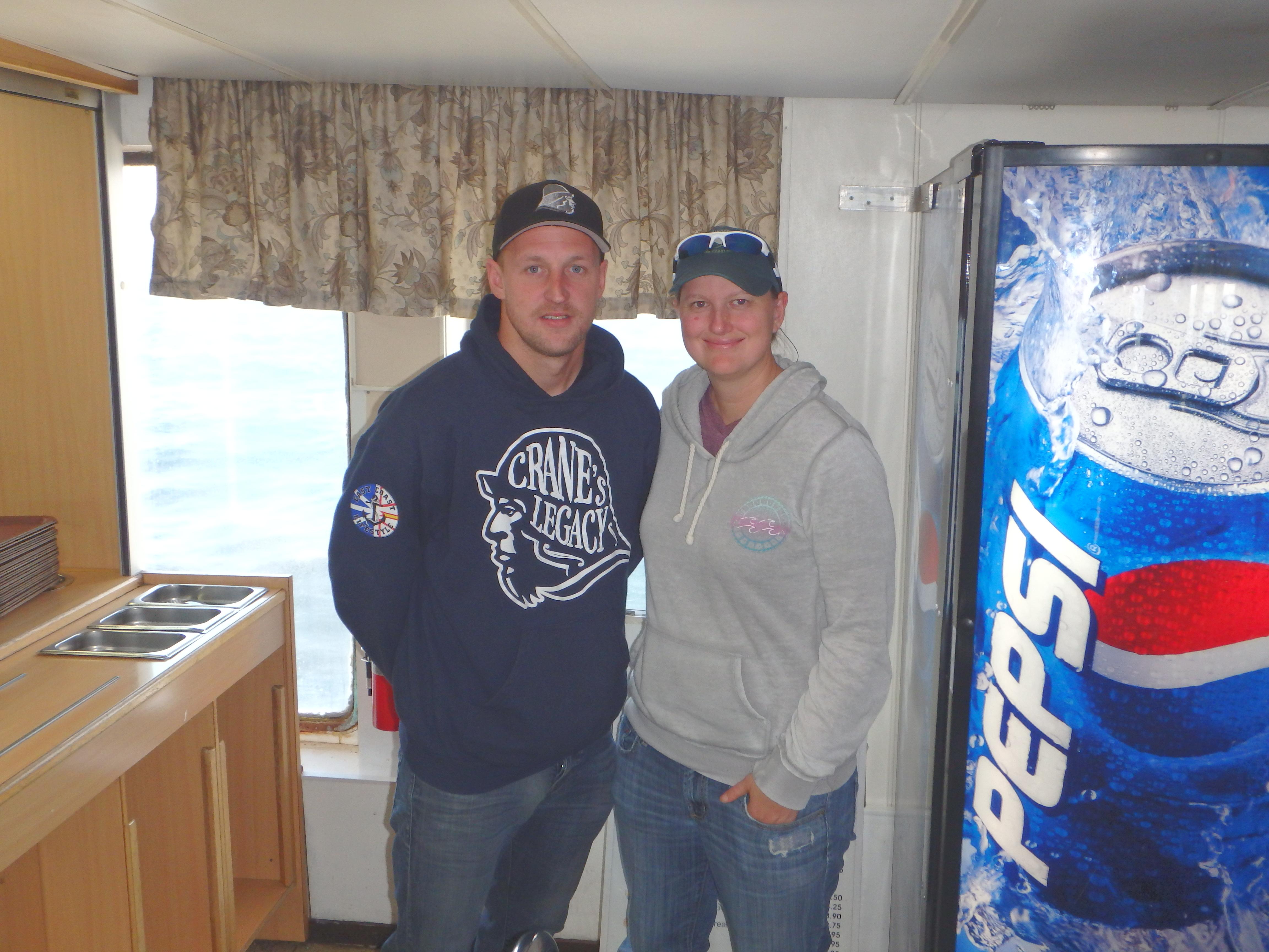 Rick Crane & Jessica; Apollo Ferry, Canada; 2015