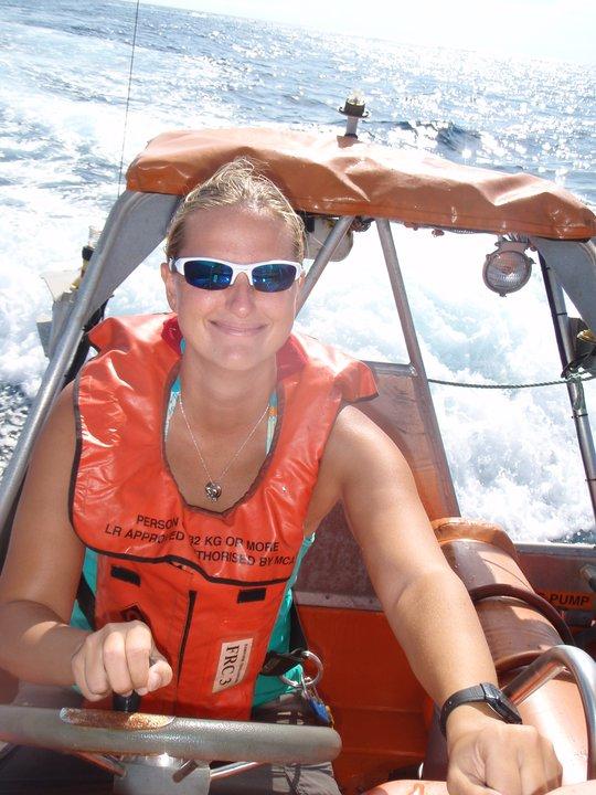 Marine Mammal Scientist; Guinea, Africa; 2010