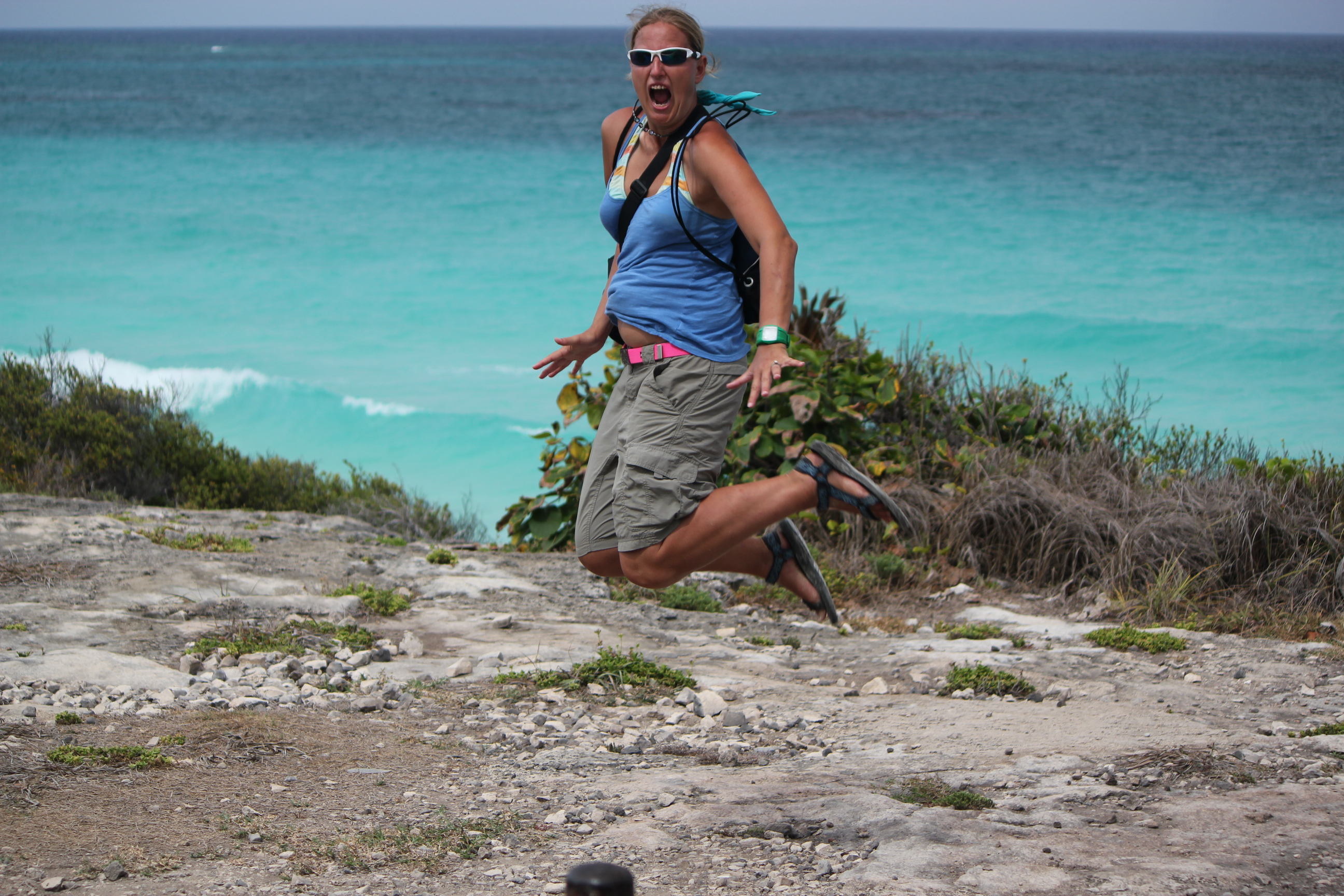 Signature Jumpin' Photograph; Tulum, Mexico; 2011