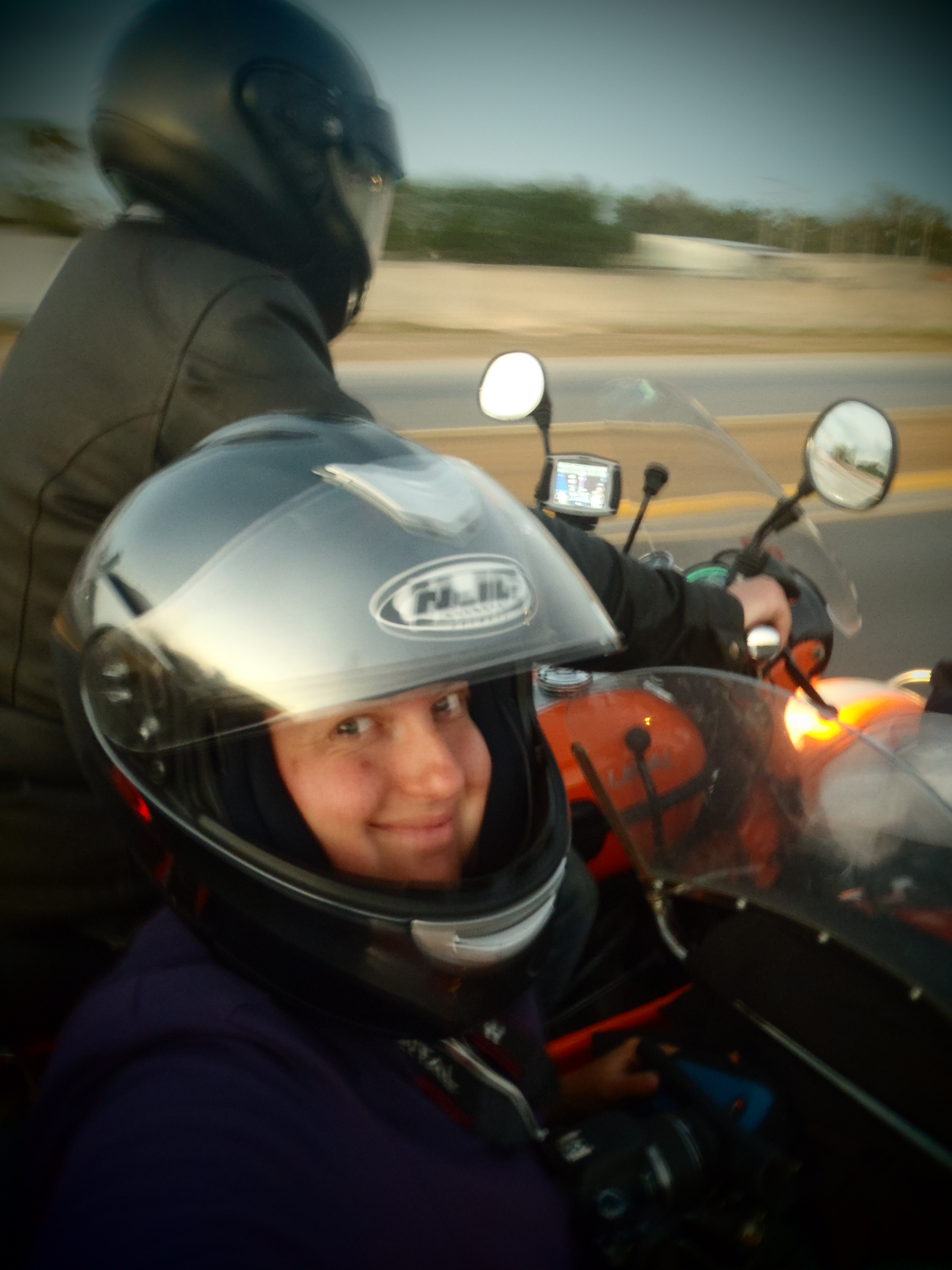 Motorcycle Sidecar Tour; Mexico; 2012