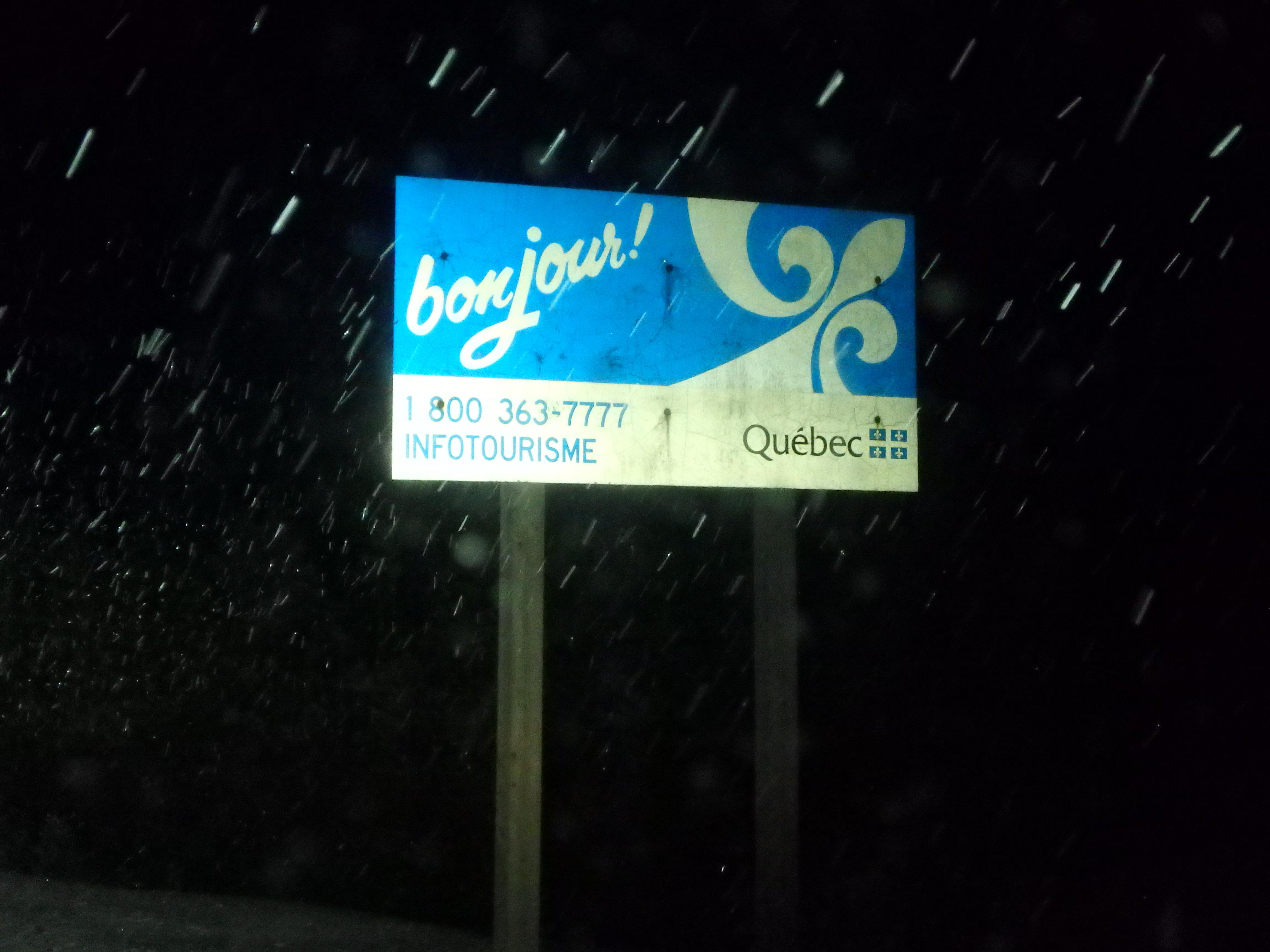 Reaching Quebec; Canada; 2015